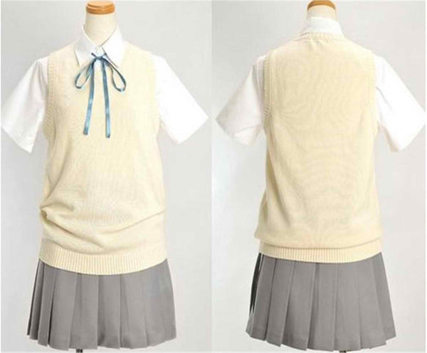 Inspired by K-ON! Summer Uniform Cosplay Costume for Girls