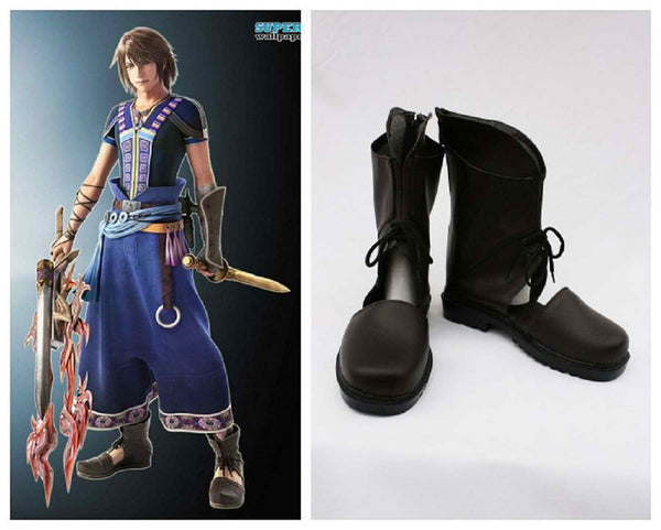 Inspired by Final Fantasy XIII-2 FFXIII-2 Noel Cosplay Shoes
