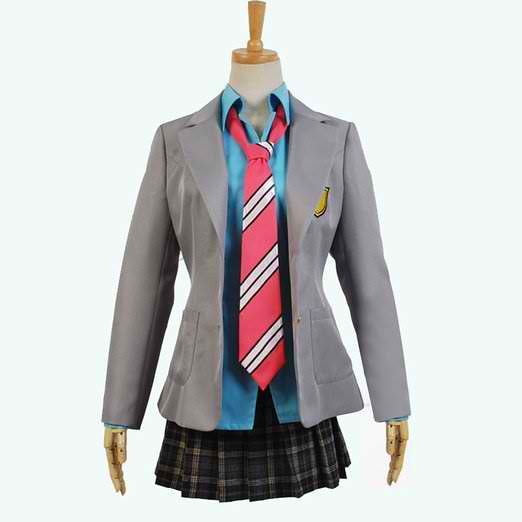 Inspired by Your Lie in April  Kaori Miyazono Uniform Costume