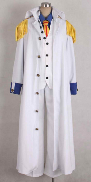 Inspired by One Piece Aokiji Kuzan Cosplay Costume