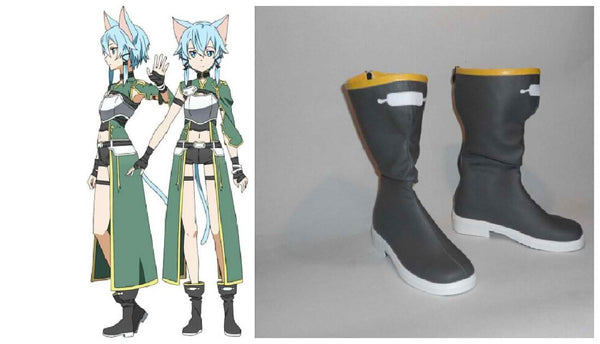 Inspired by Sword Art Online Gun Gale Online Asada shino Cosplay Boots