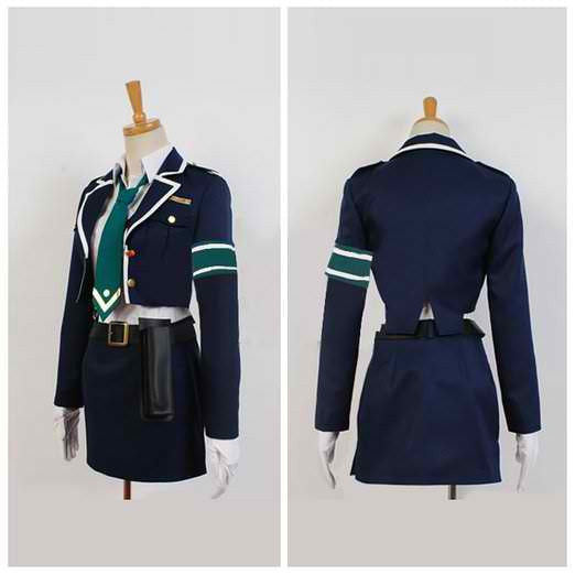 Inspired by Rail Wars! Aoi Sakurai Cosplay Costume