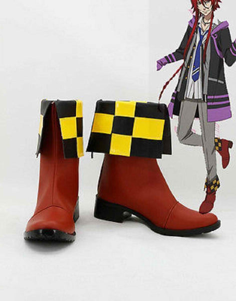 Inspired by Kamigami no Asobi Thor Brother Loki Laevatein Cosplay Boots