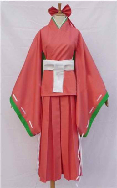 Inspired by Future Diary Kasugano Tsubaki Cosplay Costume