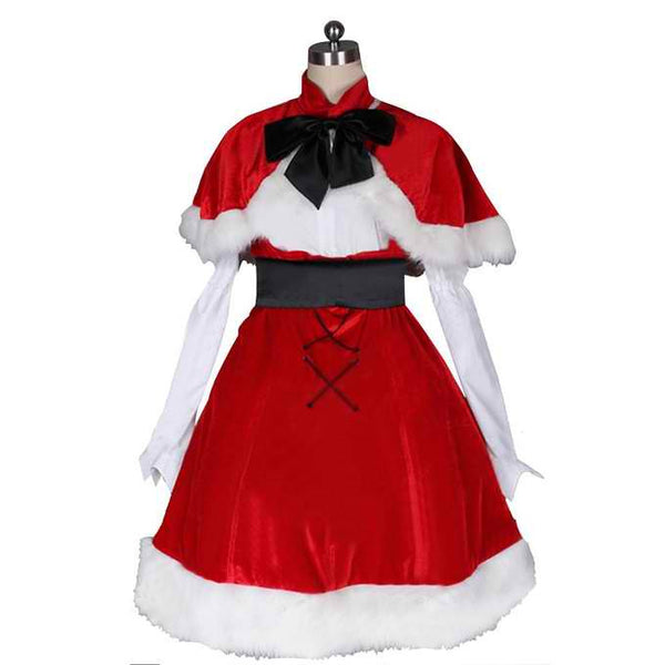 Inspired by Panty & Stocking with Garterbelt Christmas Cosplay Costume