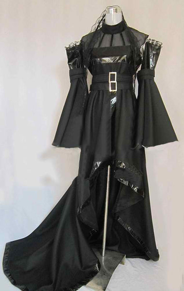 Inspired by Chobits Freya Black Dress Cosplay Costume