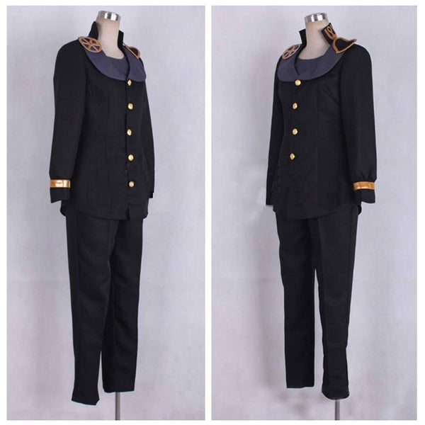 Inspired by Jojo's Bizarre Adventure Higashikata Josuke Cosplay Costume