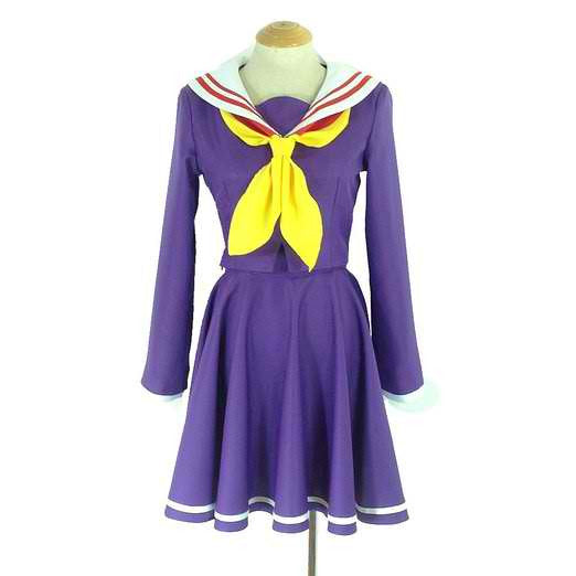 Inspired by No Game No Life Shiro Cosplay Costume