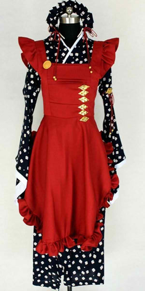 Inspired by Amnesia Sawa Mine Cosplay Costume