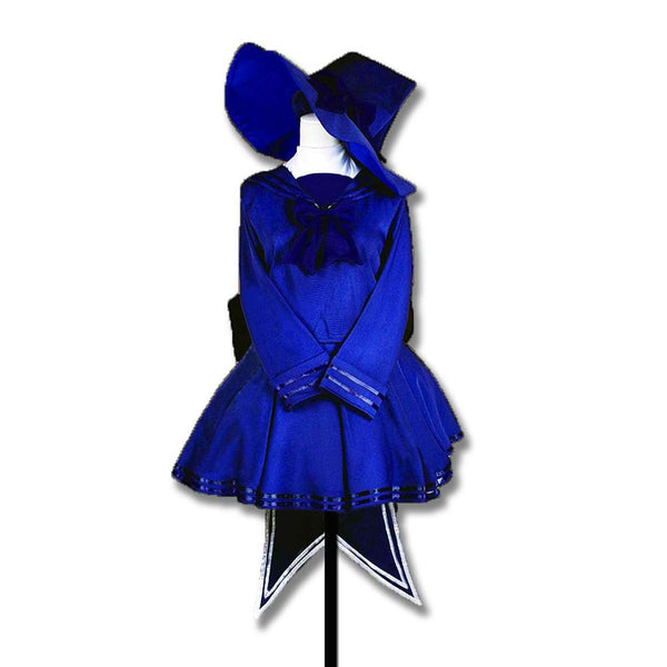 Inspired by Wadanohara and the Great Blue Sea Wadanohara Blue Cosplay Costume