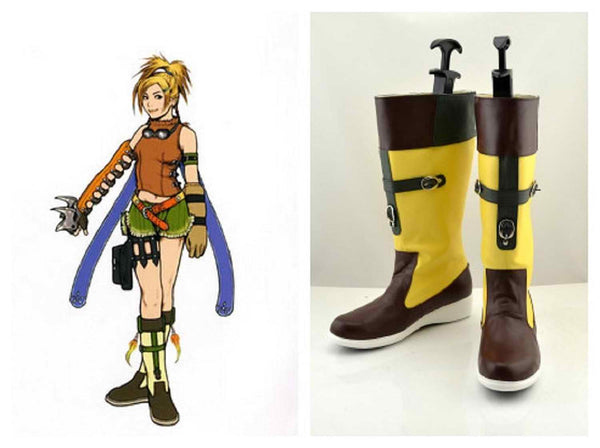 Inspired by Final Fantasy 10 X-2 Rikku Cosplay Boots