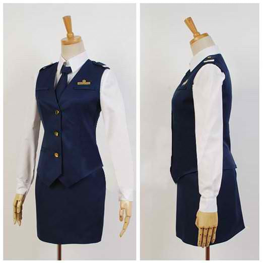 Inspired by Rail Wars! Nana Iida Cosplay Costume