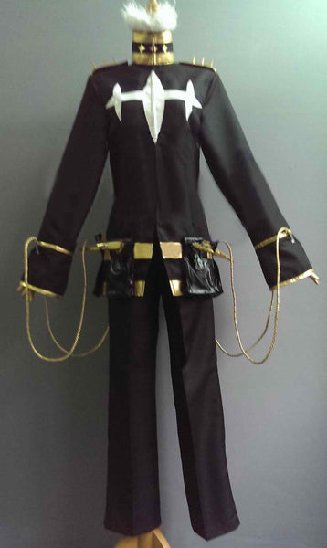 Inspired by KILL La KILL Inumuta Houka Black Cosplay Costume