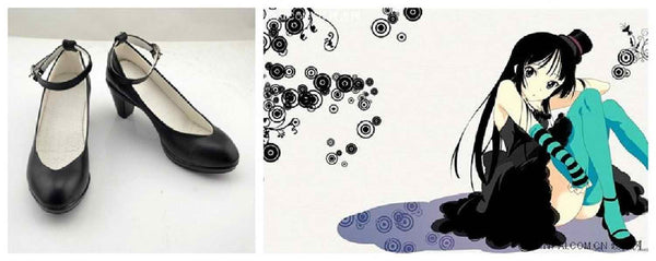 Inspired by K-ON Akiyama Mio Cosplay Shoes