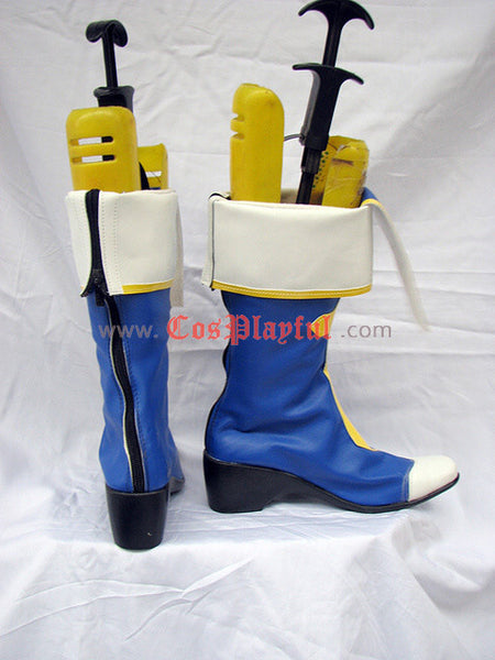 Inspired by BlazBlue Noel Vermillion Cosplay Boots