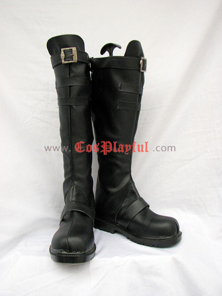 Inspired by 07-Ghost Mikage Cosplay Boots - Cosplayful