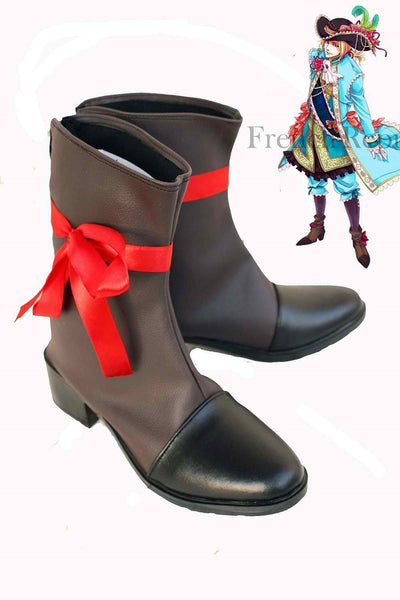 Inspired by Axis Powers Hetalia Aph France Cosplay Boots