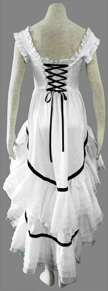 Inspired by Chobits Chi White Cosplay Costume