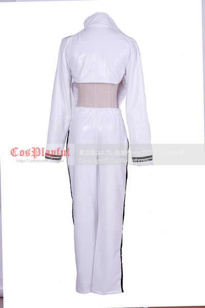 Inspired by Ken Kaneki from Tokyo Ghoul Cosplay Costume Battle Outfit White