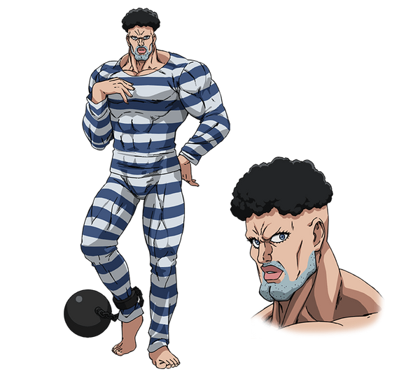 Custom Tailor Made Cosplay Costume Inspired by Pri-Pri-Prisoner from One Punch Man