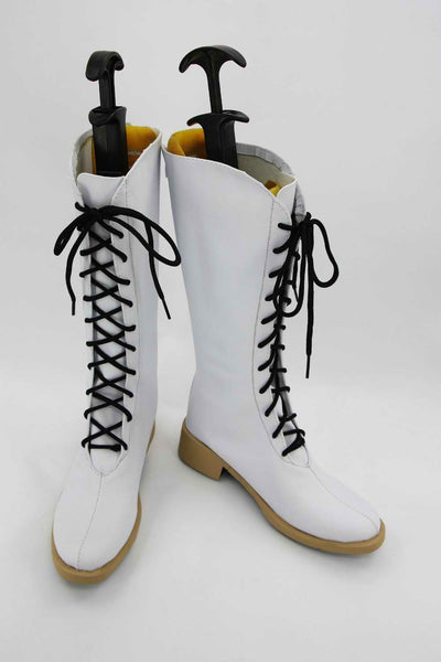 Inspired by AMNESIA Heroine White Cosplay Shoes Boots - Cosplayful