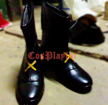 Inspired by Magical Girl Lyrical Nanoha Hayate Yagami Cosplay Boots