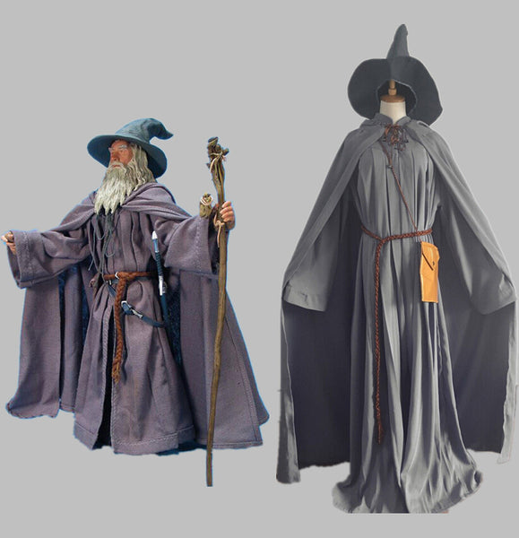 Commission Cosplay Costume Inspired by Gandalf the Grey from Lord of the Rings