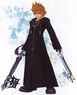 Inspired by Kingdom Hearts Organization XIII Roxas
