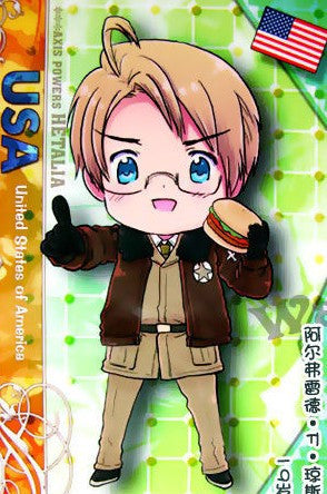 Inspired by Hetalia Axis Powers America Cosplay Costume Alfred F. Jones 2