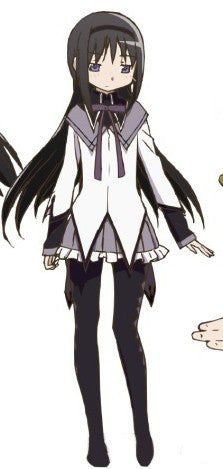 Inspired by Homura Akemi from Puella Magi Madoka Magica Cosplay Costume