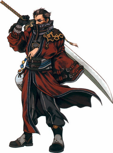 Inspired by Final Fanatasy Auron Cosplay Costume