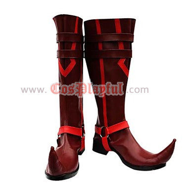 Inspired by Mephisto Pheles from Blue Exorcist Ao No Exorcist Cosplay Boots