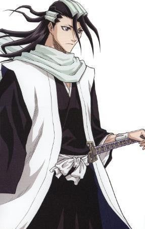 Inspired by Kuchiki Byakuya 6th Division Captain Cosplay -Bleach