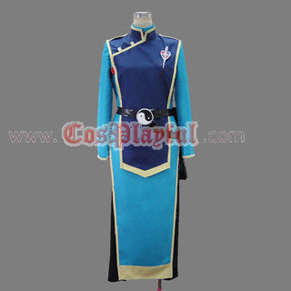 Inspired by Cheng-Long Liu from Blue Exorcist Ao No Exorcist Cosplay Costume