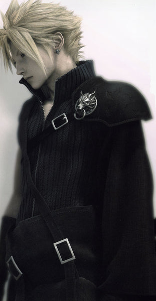 Inspired by Cloud Strife Advent Children Cosplay -Final Fantasy Cosplay