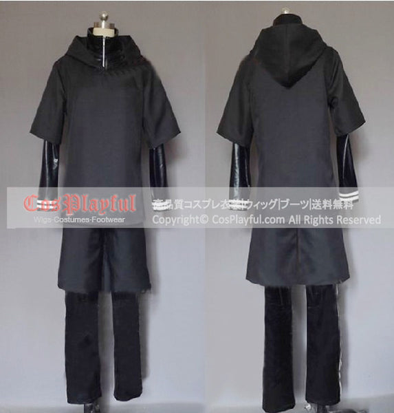 Inspired by Ken Kaneki from Tokyo Ghoul Cosplay Costume Battle Outfit Ver1