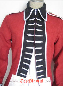 Inspired by Hetalia Axis Power England Arthur Kirkland Cosplay Costume