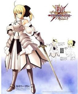 Inspired by Fate Stay Night Saber Lily Cosplay Costume