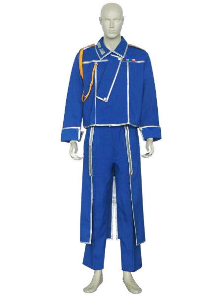 Inspired by Roy Mustang Full Metal Alchemist Cosplay Costume