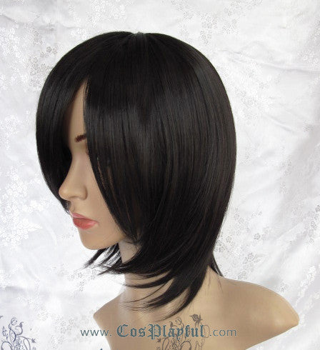 Inspired by Black Short Hair Cosplay Wig