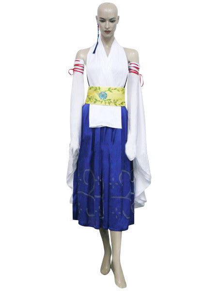 Inspired by Yuna - Summoner Cosplay Costume Final Fantasy Cosplay