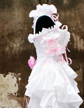 Inspired by Chii Lolita Cosplay Costume Deluxe