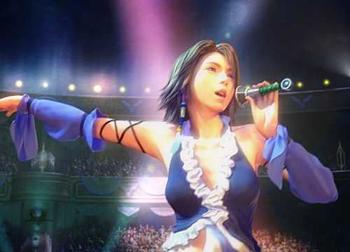 Inspired by Yuna - Singer Final Fantasy X-2 Cosplay Costume