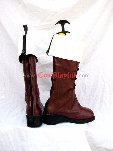 Inspired by Axis Powers Hetalia Switzerland Vash Zwingli Cosplay Boots