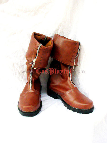 Inspired by Final Fantasy 7 Cloud Cosplay Boots Figure Version FF7