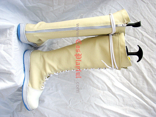 Inspired by Final Fantasy 7 Yuffie Kisaragi Cosplay Boots Figure Version