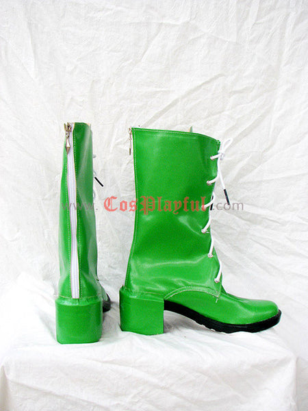 Inspired by Sailor Jupiter Lita Kino / Makoto Kino Cosplay Boots / Cosplay Shoes