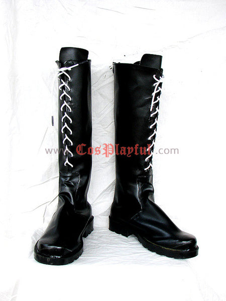 Inspired by Final Fantasy X2 Yuna Cosplay Boots FFX2