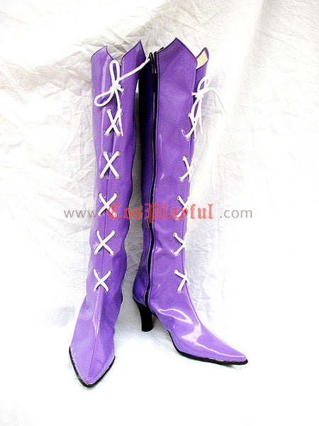 Inspired by Sailor Saturn Hotaru Tomoe Cosplay Boots