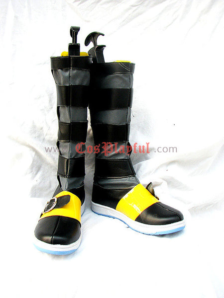 Inspired by Final Fantasy 7 Yuffie Cosplay Boots DC version